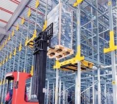 自動化穿梭式堆垛機立體倉庫貨架系統