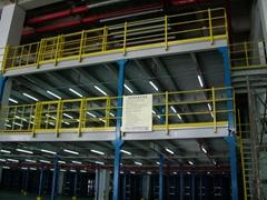 广东钢结构大跨距平台货架