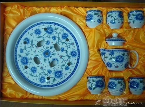 汕頭青花瓷功夫茶具 1
