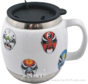 肇慶陶瓷保溫杯 1