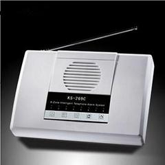 8-Zone  Wireless  Telephone  Alarm  System access control
