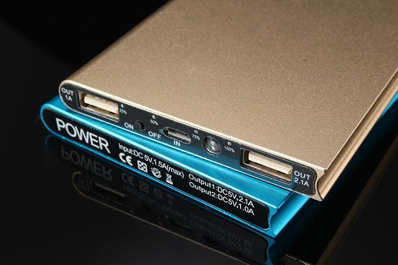 正品便攜超薄移動電源20000毫安三星小米蘋果華為通用手機充電寶 5