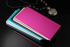 2015 HOT autumn newest 20000mah super slim super thin Polymer mobile power bank