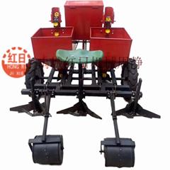 2CM-2雙行土豆種植機  農用薯類起壟覆膜馬鈴薯種植機