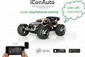 2.4ghz smartphone control auto car for kids