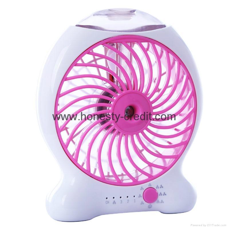 USB & Mini Fan With Water Spray 3