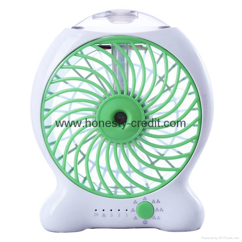 USB & Mini Fan With Water Spray 5