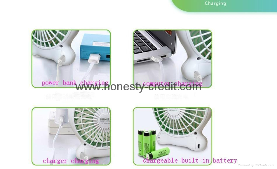 USB & Mini Fan With Water Spray 2