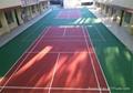 高分子卷材PVC室內運動場地耐磨防滑防刮防火 2