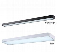 Office lamp LED office chandelier lighting rectangular square pass lamp ceiling