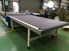 high speed digital cutting system with Oscillating Knife