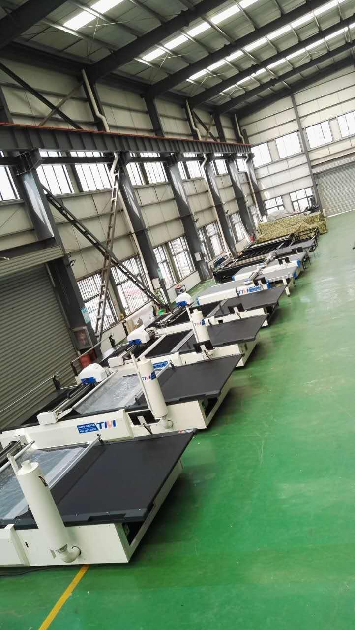 TMCC5-2220 CNC Cloth Cutting Machine For Garment Cutter 5