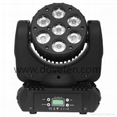 7顆12W四合一LED搖頭光束燈