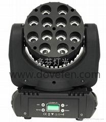 12顆10w四合一LED全彩搖頭光束燈