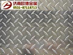 花纹铝板五条筋铝板