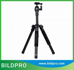 Compact Tourism DSLR Camera Tripod Aluminum Photographic Tripod Stand