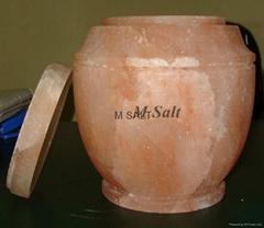 Himalayan Salt Urns & Ash Jar