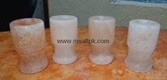 Himalayan Salt Glass