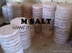 Himalayan Natural Salt Round Tile