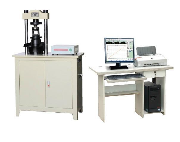 試驗機之YAW微機控制電液伺服壓力試驗機 1