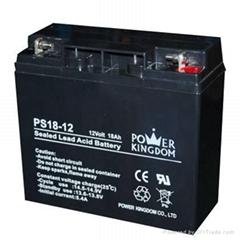 12v-18ah鉛酸蓄電池
