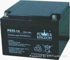 12v25ah lead acid battery