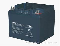 12v-38ah铅酸蓄电池