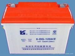 豫光6-DG-120A 電動三輪車蓄電池