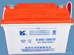 豫光 6-DG-120C 旅遊觀光車蓄電池