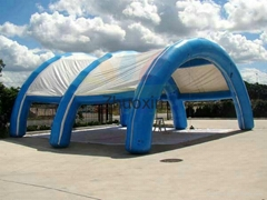 Inflatable Shade Structure