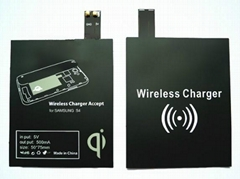 Qi Standard Wireless Charger Receiver for Galaxy S4 i9500