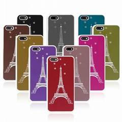 Apple iphone 5C Eiffel Tower Painted PVC Phone Case, Protective Case
