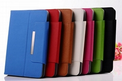 "New Arrival 8"" 9"" 9.7"" 10.1"" Universal Protective Leather Case for Tablet PC"
