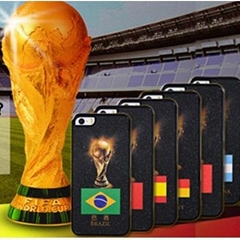 2014 Brazil World Cup Cell Phone Protective Cover Case for Apple iphone 5 5S