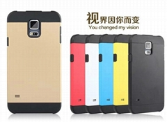 Fashion Amour Phone Case Mobile Phone Protective Cover for Samsung Galaxy S5