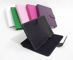7 inch Tablet PC Leather case Protective Leather Cover for 7 inch Tablet PC