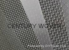 Woven stainless steel wire mesh 1