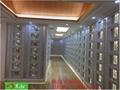 供應鋁合金抗氧化高檔骨灰寄存架