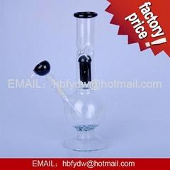 borosilicate glass smoking pipe