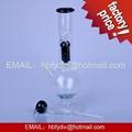 borosilicate glass smoking pipe 2
