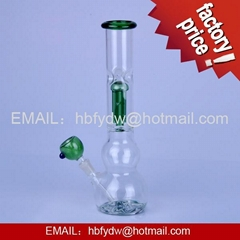 clear glass smoking pipes