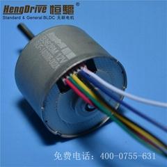 Brushless dc motor for fan