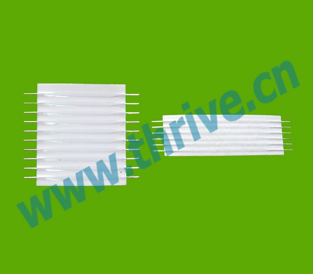 2.54mm變頻器膠膜排線灰排線tyco electronics 2