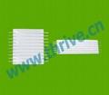 2.54mm变频器胶膜排线灰排线tyco electronics 2