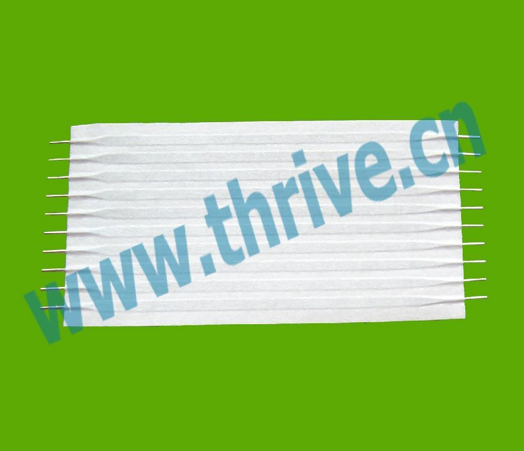 2.0纸膜圆头跳线中间扁排线圆头排线 1