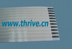 2.54 pitch flexible flat cable ( FFC )GmbH/AMP/molex/HRS