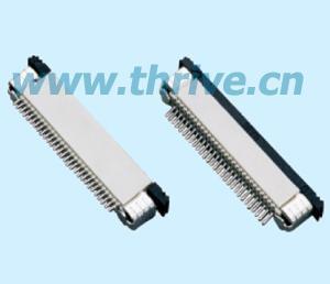 0.8mm薄膜線美通/AMP/molex/HRS 2