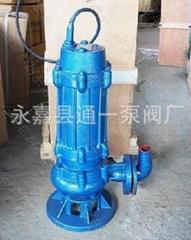 WQ无赌塞高效潜水排污泵