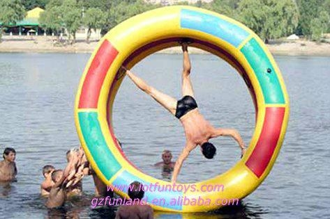 Inflatable Water Toy: Human Water Roller Rolling Ball. 2