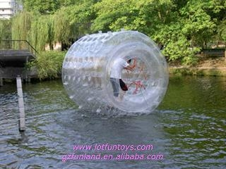 Inflatable Water Toy: Human Water Roller Rolling Ball. 1